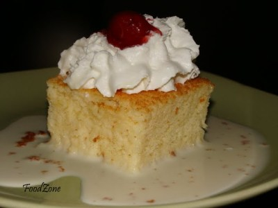 Tres Leches Cake - 3 milk cake ~ FoodZone