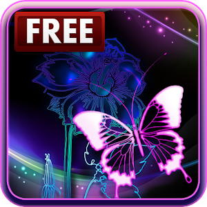 Neon Butterfly Live Wallpaper - Android Apps on Google Play