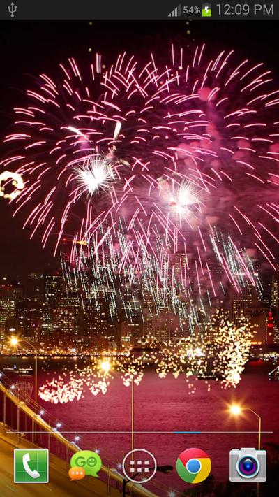 Download Fireworks Live Wallpaper v1.1.7 Full Apk - Ada Gratis One
