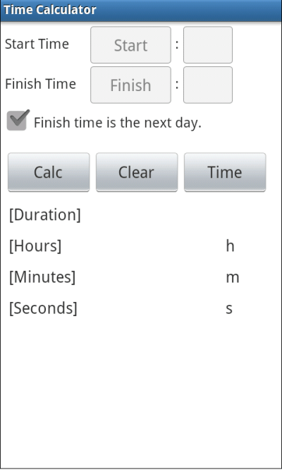 Time Calculator - Android Apps on Google Play