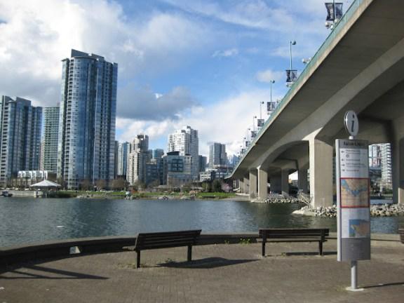 False Creek at Cambie St Bridge, Vancouver