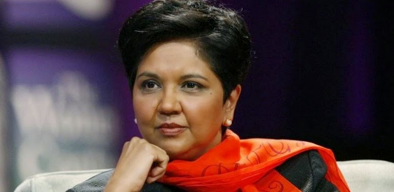 The CEO of Pepsi, Nooyi, thinks that women