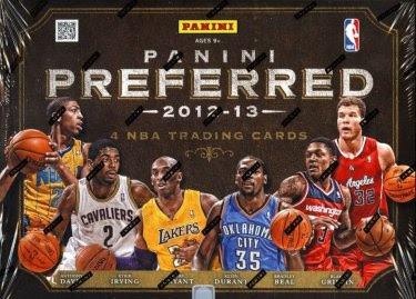 12/13 Panini Preferred Basketball