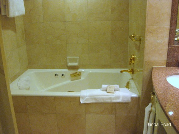 Fairmont Chateau Whistler bathroom