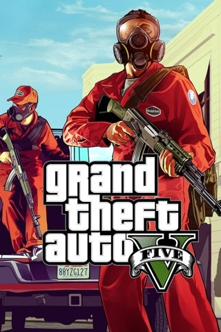 Grand Theft Auto V | iPhone Wallpapers - Happy iPhone