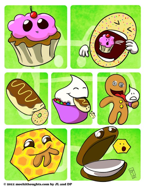 Cute Food Comics, Evolution of Android