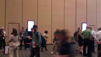 Crowd outside PeopleSoft Roadmap Session