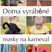 Doma vyrobené masky na karneval - Ze světa zvířat
