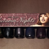 China Glaze Autumn Nights Gossip Over Gimlets szett