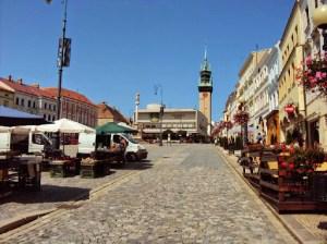 Marktplatz in Znojmo
