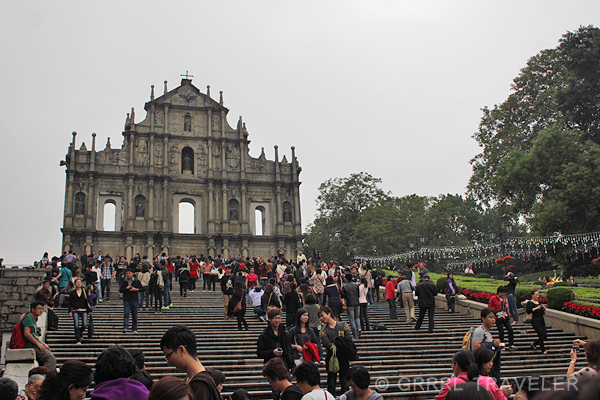 Macau's Sao Paulo, things to see in Macau