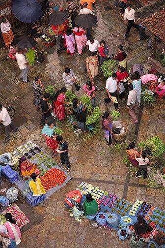 durbar square market palce