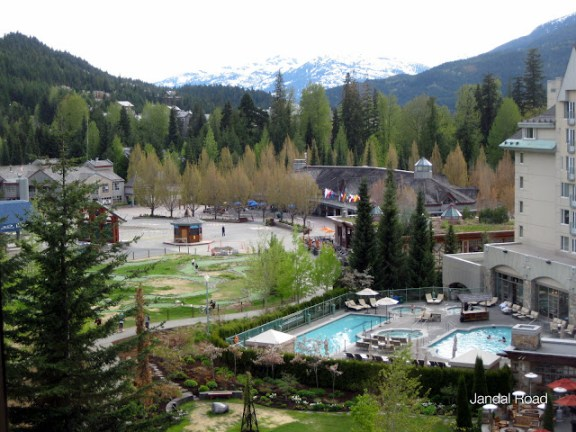 pools at the Fairmont Chateau Whistler