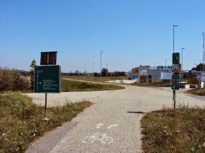 Grenze zur Slowakei, Bratislava ist in Sicht