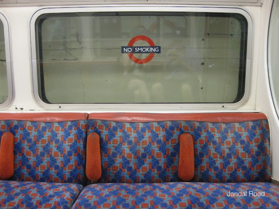 Tube seats, London