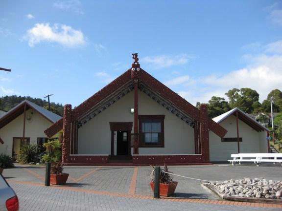 Meeting hall at Whakarewarewa village, Rotorua