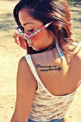 quotes tattoos for girls