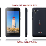 Symphony Xplorer W75 : Phone Specifications And Price