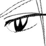 seleção nos olhos