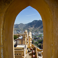 view from above - Amber fort - Canon T2i