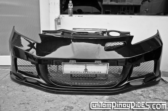Facelifted Honda Jazz Body Kit by Atoy Customs Custom Pinoy Rides pic7