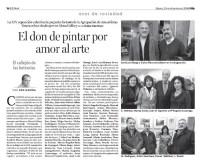"""Navidad 2008:Jose luis Otaegui, Carlos Diez.Sagrario Nebreda, Marisa Zurdo, Juan Manuel Egurrola, Maria Eugenia Luzarrága.M. Rodriguez, Antón Menchaka, Nieves, """"Joselu""""."""