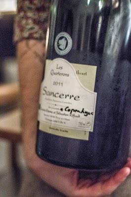 Sancerre 2011- Anmeldelse af Den Vandrette vinbar -  Mikkel Bækgaards Madblog.jpg