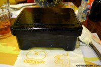 What's inside this Bento Box at Teriyaki Boy?