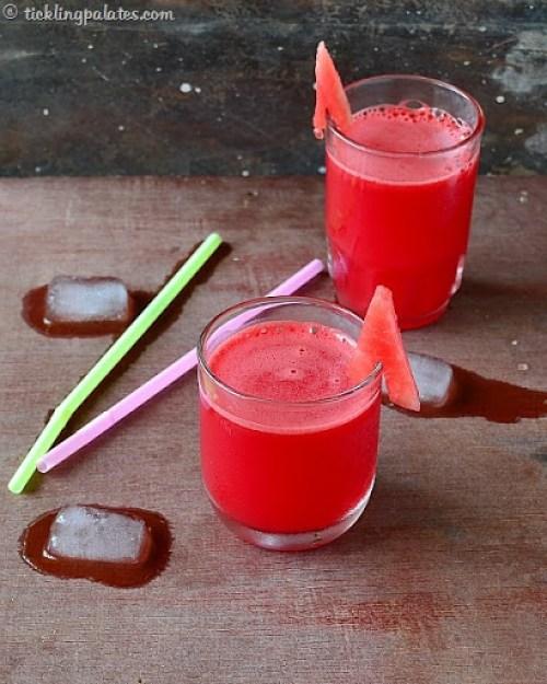 Watermelon fruit juice