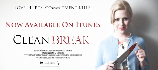 Clean Break starring Tianna Nori, Samy Osman and Sean Kaufmann is now available to own or rent on iTunes.