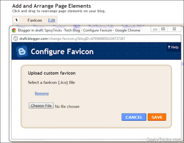  How to Add Favicon to BlogSpot Blogs easily? [Official by Blogger]
