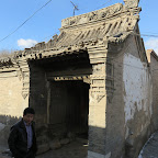 a doorway on the street in hunyuan.JPG