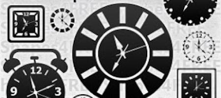 [Shapes整理]時鐘、鬧鐘自訂形狀集