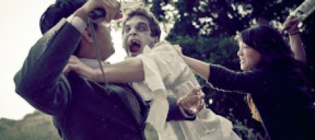 [攝影師]Amanda Rynda 加入殭屍攻擊的結婚照