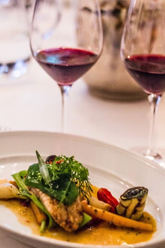 Winemaker's Dinner på Les Sommelier - Mikkel Bækgaards Madblog