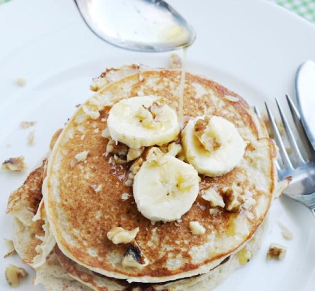 banana bread protein pancakes 039