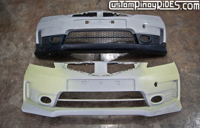 Facelifted Honda Jazz Body Kit by Atoy Customs Custom Pinoy Rides pic1