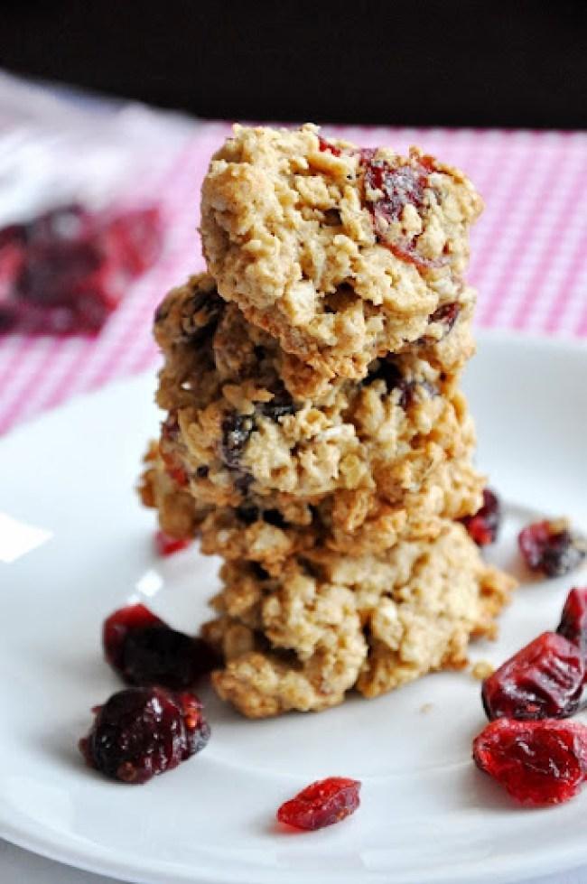 oatmeal cranberry orange pecan cookies 047
