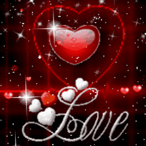 Red Heart Love Live Wallpaper - Android Apps on Google Play