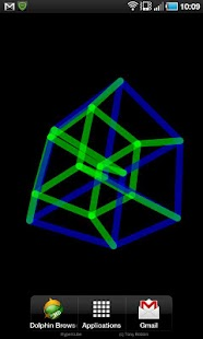 Download 4D Hypercube Live Wallpaper APK on PC | Download Android APK GAMES & APPS on PC