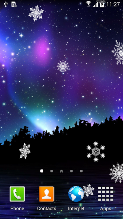 Winter Night Wallpaper - Android Apps on Google Play