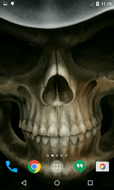 Skull 3D Live Wallpaper - Android Apps on Google Play