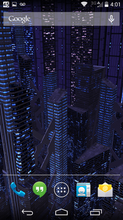 3D Live Wallpaper Dark City Pro v2.0 Apk | APk4you.com