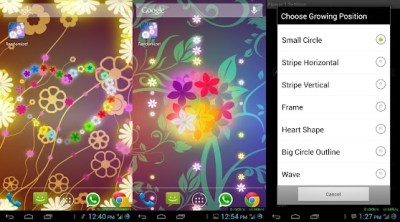 App Flowers Live Wallpaper PRO APK for Windows Phone | Android games and apps
