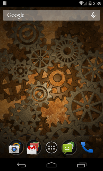 Gears 3D Live Wallpaper - Android Apps on Google Play