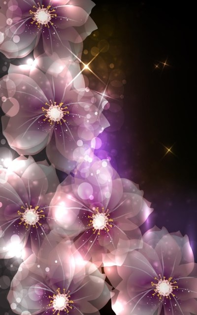 Glowing Flowers Live Wallpaper - Android Apps on Google Play