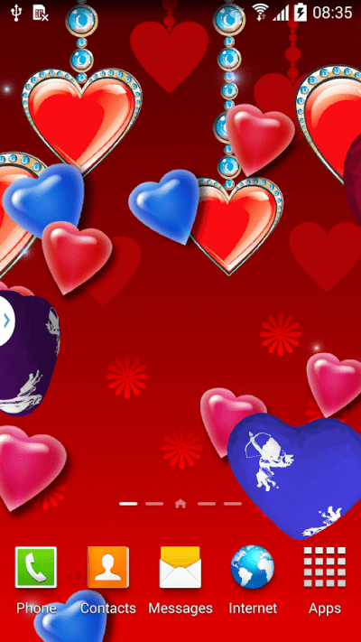 3D Hearts Live Wallpaper Free - Android Apps on Google Play