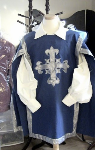 tabard des mousquetaires