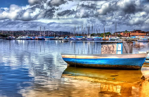 Boat HDR Image
