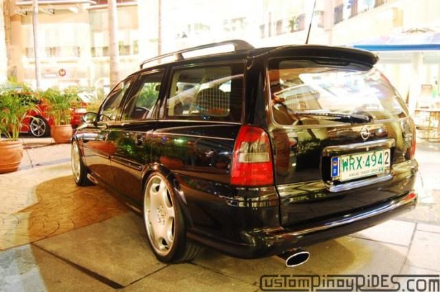 CustomPinoyRides - EuroFest 2010 Opel Vectra Wagon Carlsson Wheels pic2